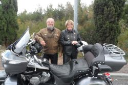 02 - Michel et Anne-Marie sur Indian Roadmaster