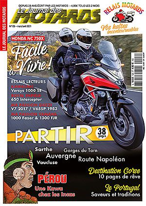 LE JOURNAL DES MOTARDS n°128 – mars/avril 20211